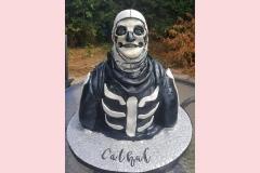 11-Skull-trooper-Fortnite-Cake
