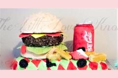 3-Burger-Cake