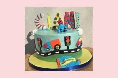 8-Car-Cake